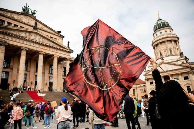 Freiburger Aktivist zu Extinction-Rebellion: