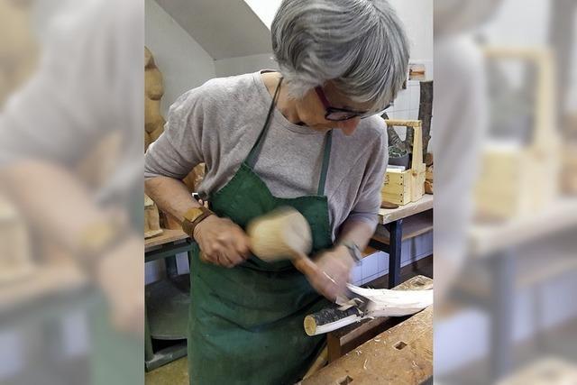 Vom Holzstück bis zum Kunstwerk