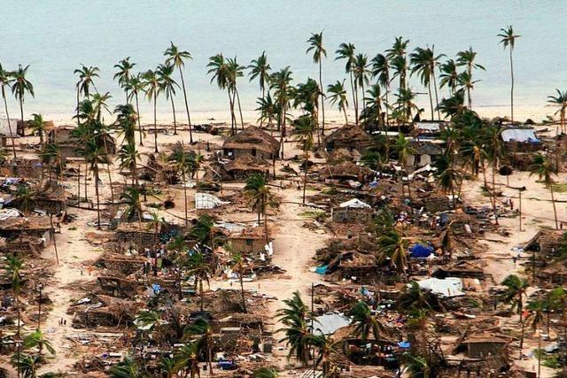 Zahl der Toten durch Zyklon