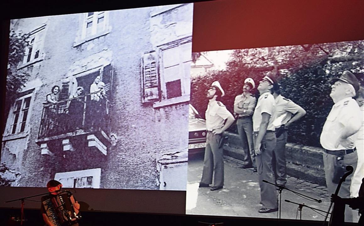 Mit Fotos und Kommentaren Illustrierte...tzung in Neustadt in den 80er Jahren.   | Foto: Rothfuß