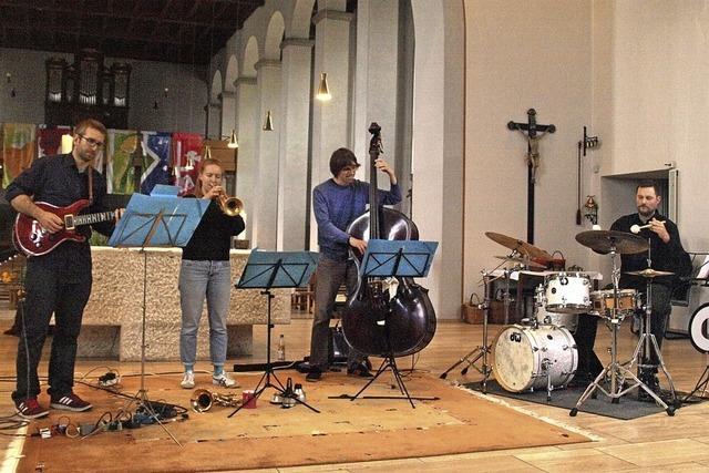 Zum Jazzkonzert in die Kirche