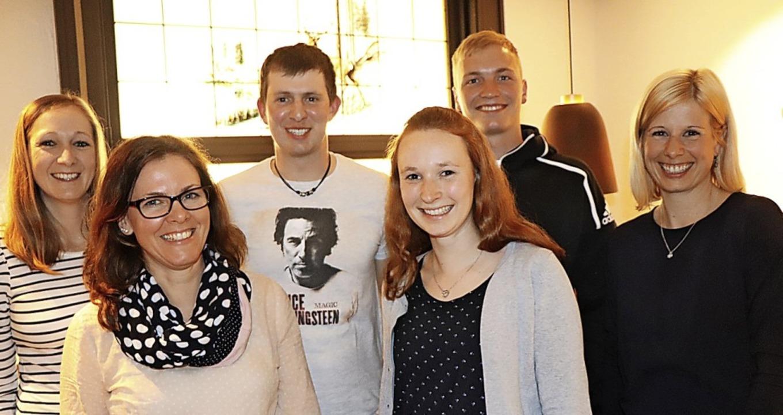 Der neue Vorstand der Trachten-Akkorde...Tim König und Sabrina Schwörer-Nitz .   | Foto: Dieter Maurer