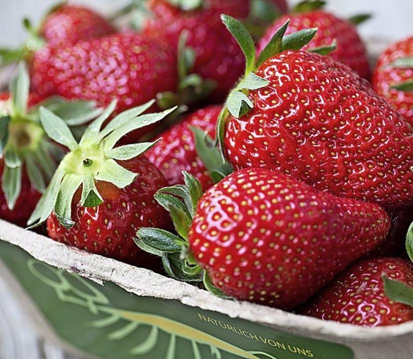 Familie Denzer zeigt, wie Erdbeeren wachsen und  was man daraus machen kann.   | Foto: Mike brombacher
