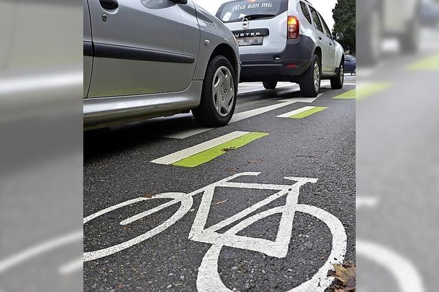 Neue Offensive der Grünen gegen die Radschutzstreifen