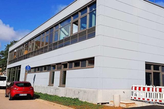 Neubau an der Breisacher Gewerbeschule eröffnet