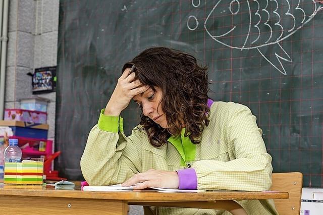 Lehrer sind trotz Zeitmangels mit ihrem Job zufrieden