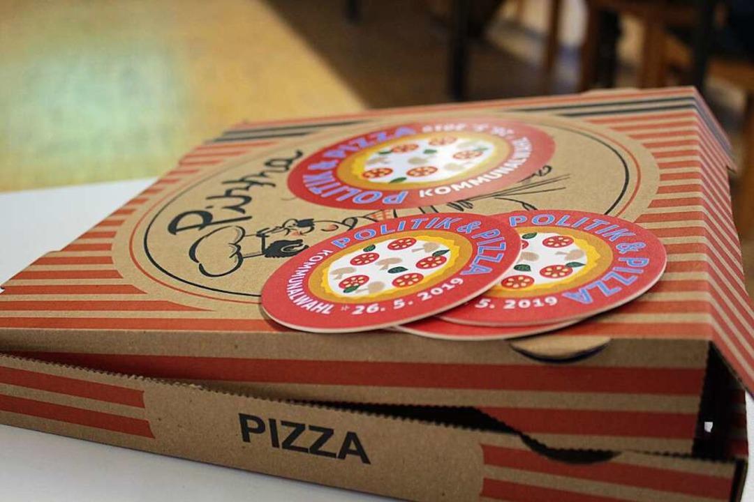 Pizza soll Lust machen auf Politik.  | Foto: Anja Bertsch