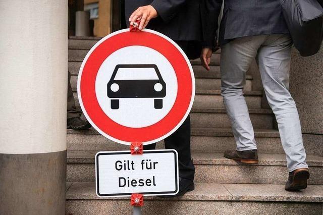 Gerichtsentscheidung heizt Streit um Diesel-Fahrverbote neu an