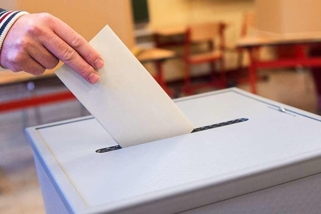 Am 26. Mai können die Wählerinnen und Wähler entscheiden.    Foto: dpa