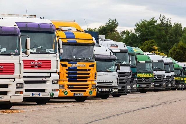 An deutschen Autobahnen fehlen Tausende Lkw-Parkplätze