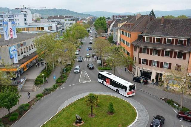 Weil am Rhein soll eine Fußgängerzone bekommen