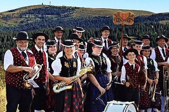 Blechmusik und Westernparty