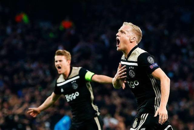 Ajax-Bubis gewinnen in London – und verzücken Fußball-Romantiker