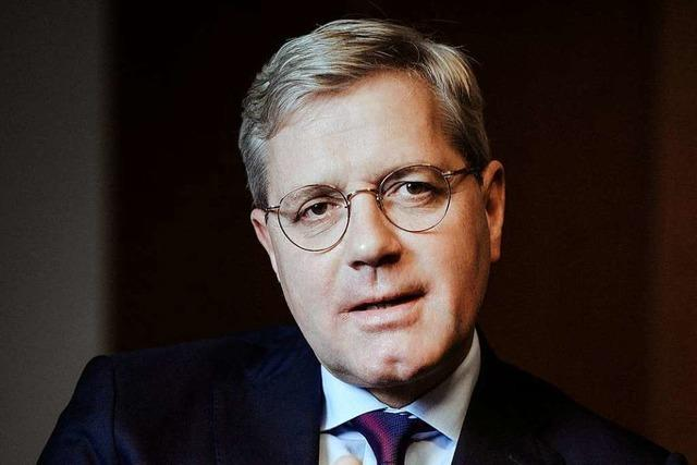 Norbert Röttgen (CDU) kommt am Donnerstag nach Weil am Rhein