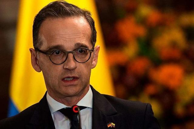Maas verspricht weitere Unterstützung für Friedensprozess