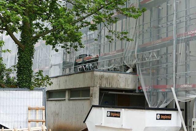 Die Sanierung der Rosenfelshalle in Lörrach wird eine Million Euro teurer