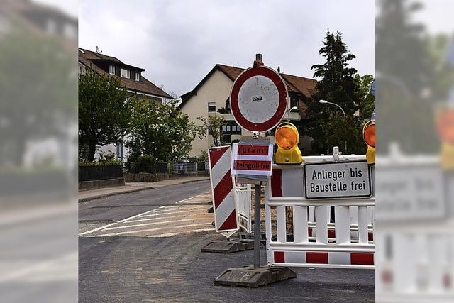 Lörracher Straße bleibt gesperrt