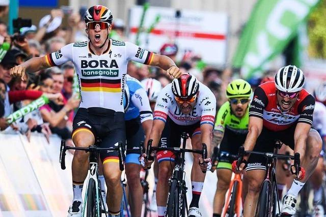 Pascal Ackermann gewinnt den Radklassiker Eschborn-Frankfurt