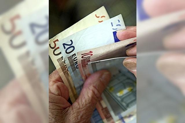 Erhöhung der Renten zur Jahresmitte