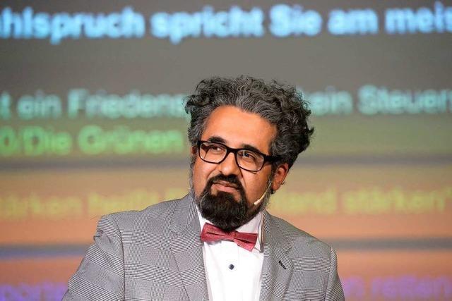 Religionsphilosoph Ahmad Milad Karimi sprach in Freiburg über Heimat und den Islam