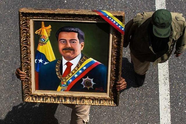 Venezuelas Präsident Maduro droht abtrünnigen Soldaten mit Gefängnis