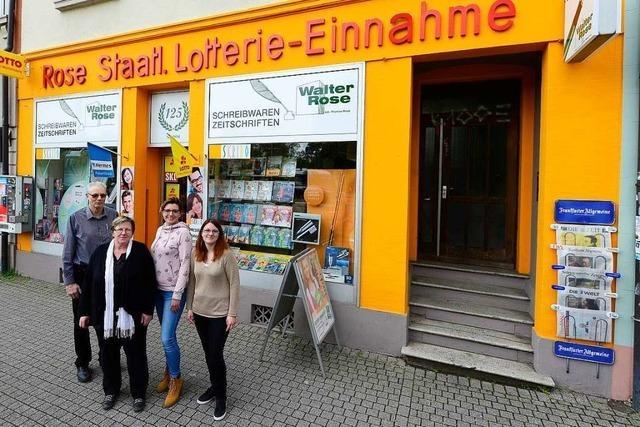 Das Schreibwarengeschäft Rose in der Günterstalstraße wird 125 Jahre alt