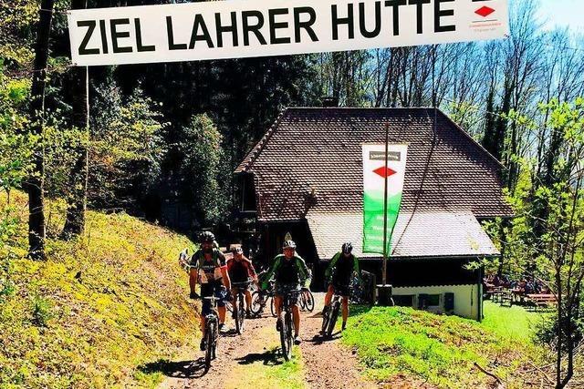 Der Mountainbike-Tag an der Lahrer Hütte feiert Geburtstag