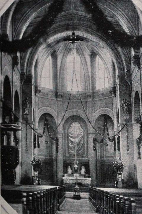 Am Einweihungstag 1869 entstand diese Aufnahme.  | Foto: Archiv St. Georg