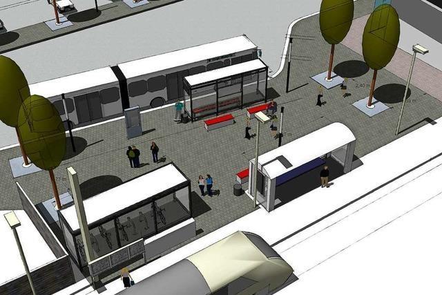Die Pläne für die Neugestaltung des Bahnhofsumfelds in Zell kommen nicht bei allen gut an