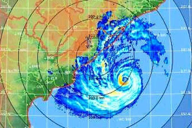 Schwerer Zyklon nähert sich indischer Küste