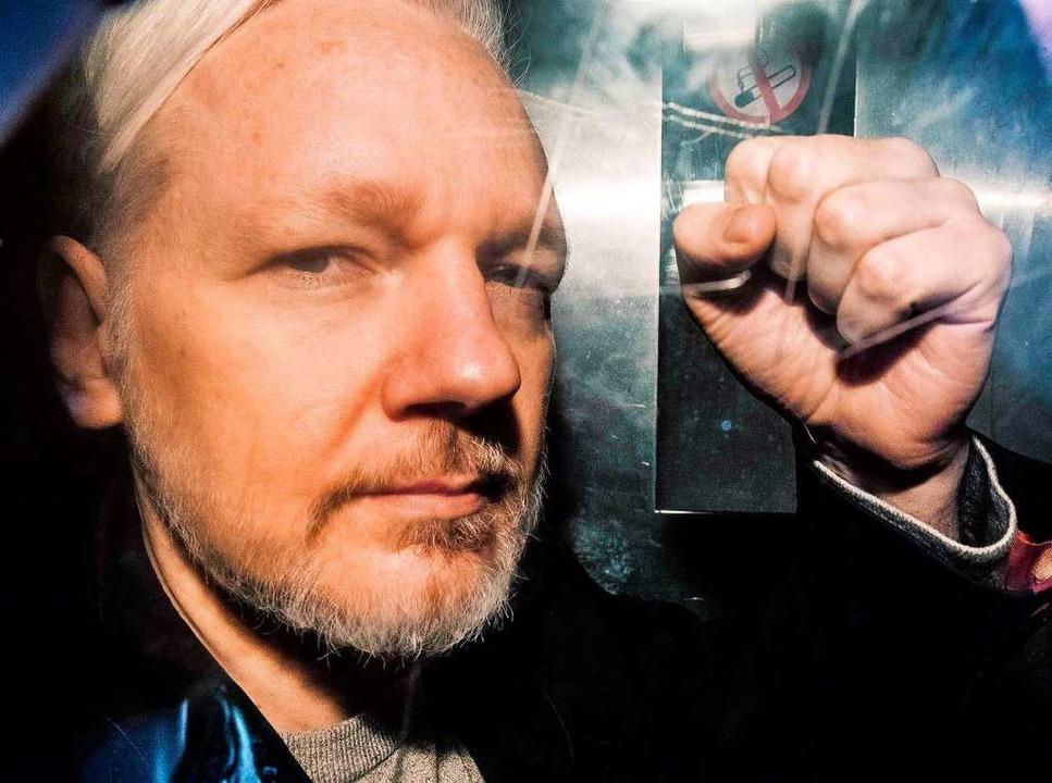 Julian Assange  | Foto: AFP
