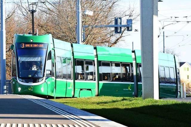 Die Tram 3 fährt abends wegen Übergriffen nicht mehr von Basel ins Elsass