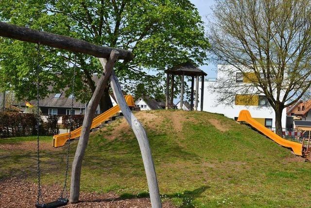 Der Spielplatz Raiffeisenplatz in Ehrenkirchen soll umgestaltet werden