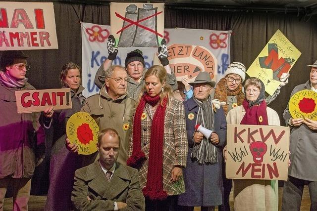 Theaterbühne im Keller in Waldkirch