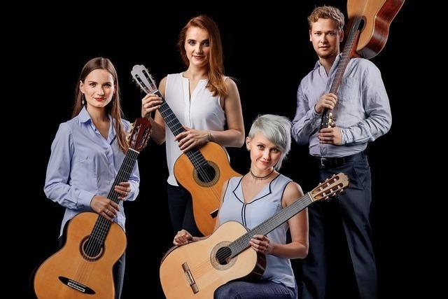 Weimarer Gitarrenquartett gastiert in Baden-Baden
