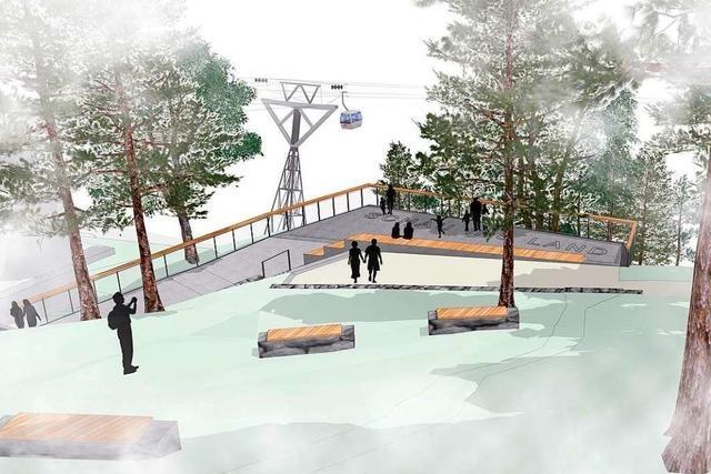 Aussichtsplattform an der Bergstation wird für eine halbe Million Euro barrierefrei umgebaut
