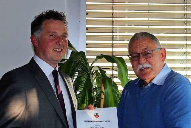 Patrick Becker ist nun Amtsverweser in Ballrechten-Dottingen