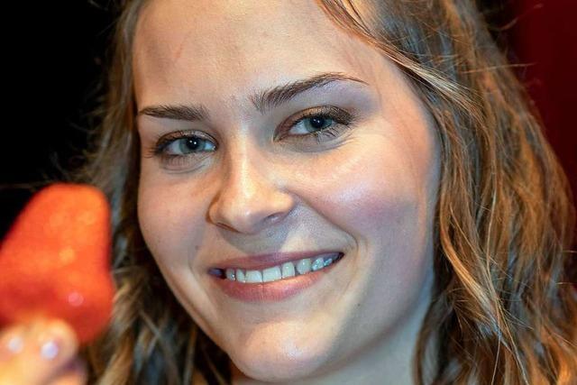 Anne Obrecht aus Oberkirch ist die erste Erdbeerkönigin im Südwesten