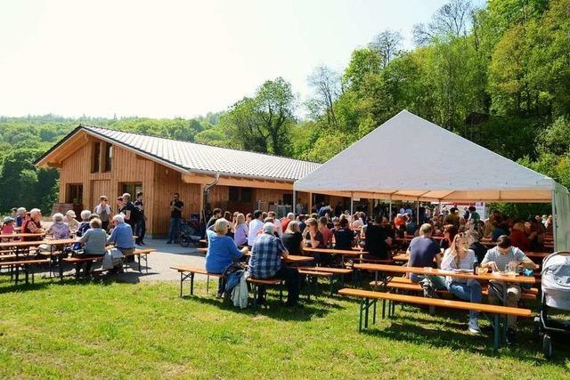 Die neue Endinger Grillhütte ist eingeweiht