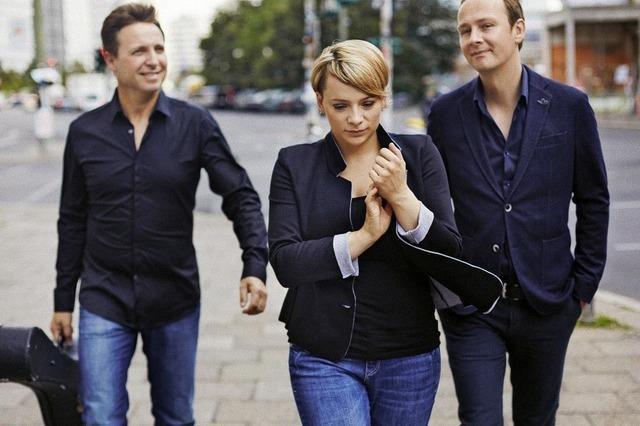 Abschluss der 10. Kultur im Kursaal in Bad Säckingen mit dem Cristin Claas Trio.