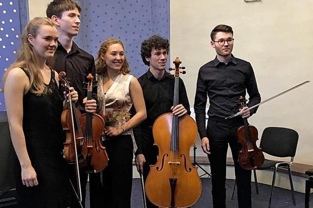 Das Cobani-Quartett mit Daniela Zib (Sopran) in Teningen-Nimburg