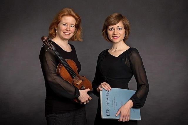 Duo-Konzert mit Geigerin Annette Rehberger und Pianistin Marjana Plotkina in Rheinfelden