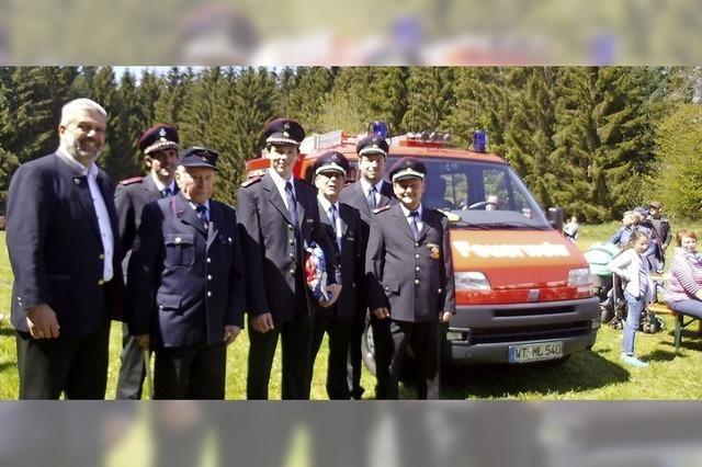 Großer Tag für die Feuerwehr Wittlekofen