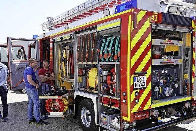Gut gerüstet für Brände und Unfälle