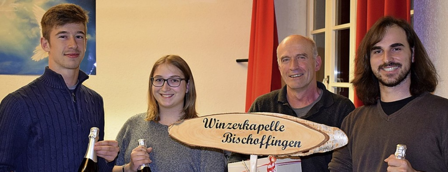Karl Fesenmeier, Luisa Köllner, Otto S...gjährige Mitgliedschaft ausgezeichnet.  | Foto: Cecile Buchholz