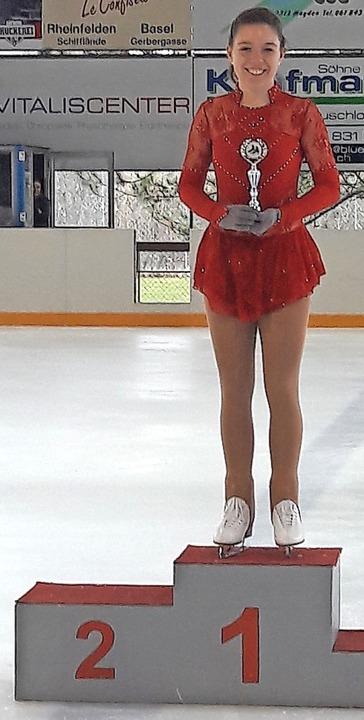 Victoria Bauereiß bei ihrer ersten Clubmeisterschaft   | Foto: Privat