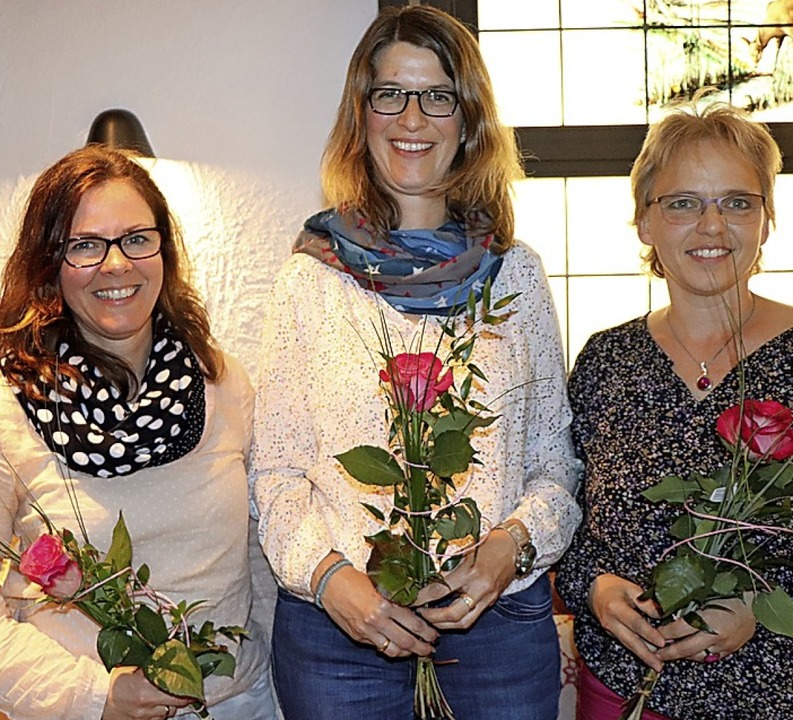 Saskia Winterhalter, Martin Keilbach-O...t Tröscher sind seit 35 Jahren dabei.   | Foto: Dieter Maurer