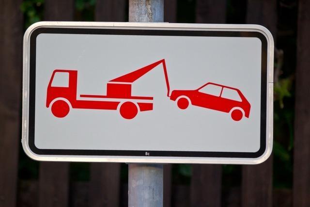 Am Feldberg sind 2019 schon 177 Autos abgeschleppt worden