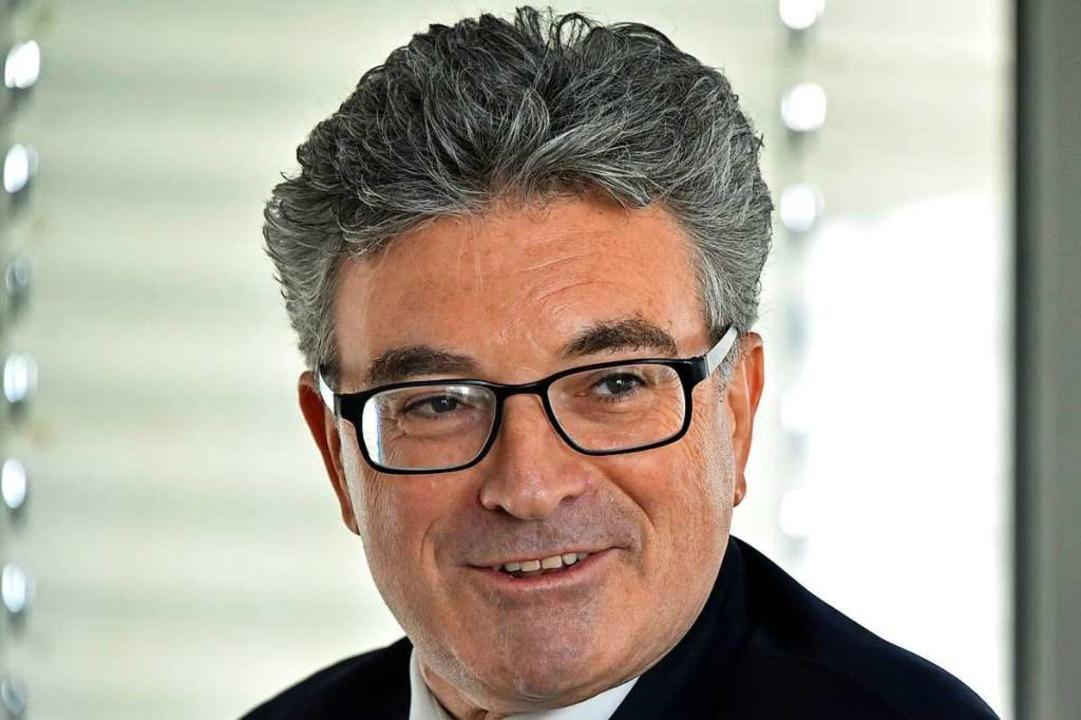 Dieter Salomon war von 2002 bis 2018 Oberbürgermeister der Stadt Freiburg.  | Foto: Michael Bamberger