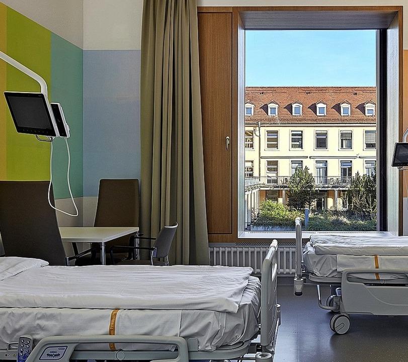 Alt und neu: Blick aus  einem Patientenzimmer  | Foto: Miguel Babo Photography